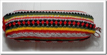 Multi crochet stitch cilindar cushion cover March13_2