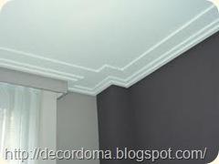 Плинтус в декоре потолка