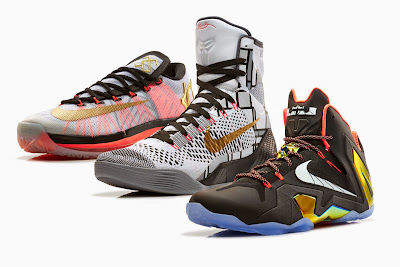 nike lebron 11 xx ps elite gold collection 1 01 Nike Basketball Elite Series Gold Collection: KD6, Kobe 9 & LeBron 11