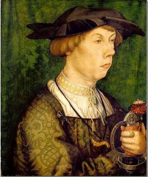 Hans Holbein, Portrait d'un jeune homme