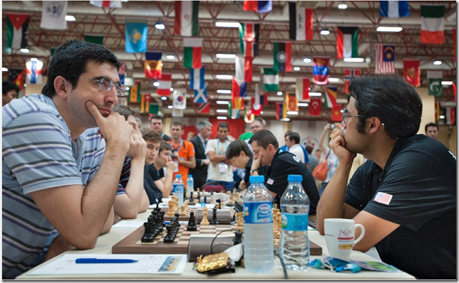 Russia vs USA, Round 9, Olympiad 2012, Istanbul