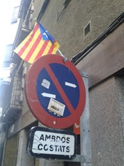 Bandièra independentista Puigcerdà