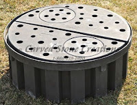 46in Heavy-Duty Pond-less Basin, 125gal 4,000lb capacity