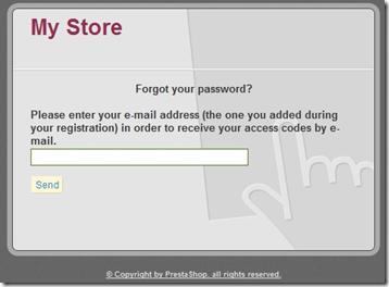 jendela lupa password prestashop