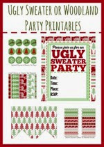 Second Chance to Dream - Ugly Sweater Party Printables