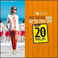 G2000 End Seaon Sale Final 2013 All Discounts Offer Shopping EverydayOnSales