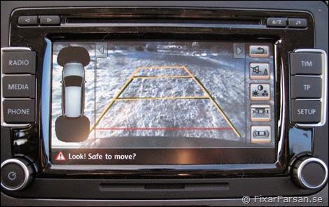 Parkeringskamera-Passat