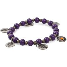 #310 Treasure bracelet mid lilac