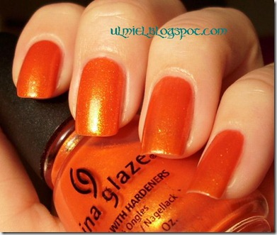 China Glaze - Orange Marmalade 016