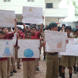 International Ozone Day Rally at Santosh Nagar Boys Branch