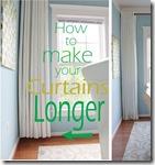 making curtains longer
