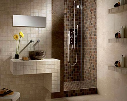 Consejos para convertir un ba o en un lugar elegante y moderno arquitexs - Revestimiento para banos ...