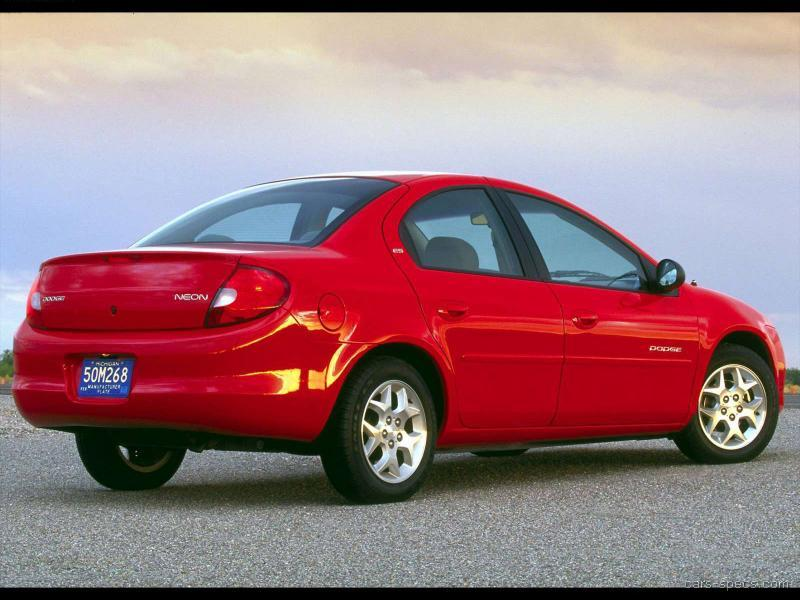 2002 dodge neon sedan specifications pictures prices. Black Bedroom Furniture Sets. Home Design Ideas