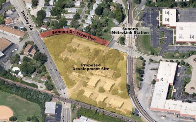 Site of proposed development