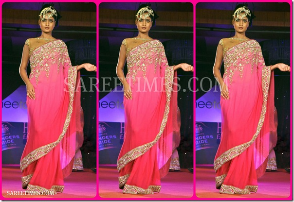 Pink_Designer_Embroidery_Saree