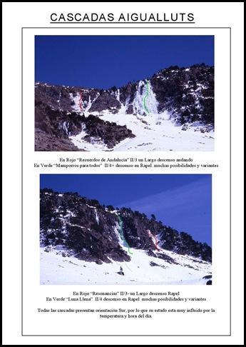 Aigualluts - Cascadas de Hielo