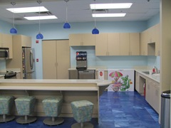 Florida Marriott Cypress Harbour kitchen area game house