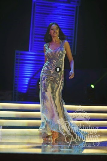 Janicel Lubina - Bb. Pilipinas 2015 Best in Evening Gown