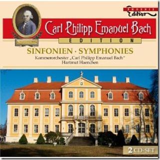 CPE Bach Sinfonias Haechen