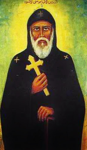 San Moisés, el negro.