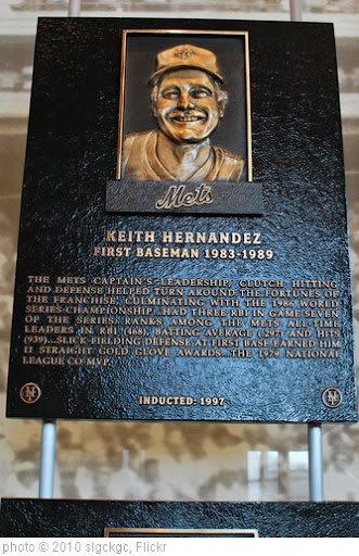 'Keith Hernandez Hall of Fame Plaque' photo (c) 2010, slgckgc - license: http://creativecommons.org/licenses/by/2.0/