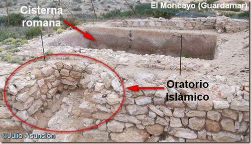 Cisterna y oratorio islámico de El Moncayo