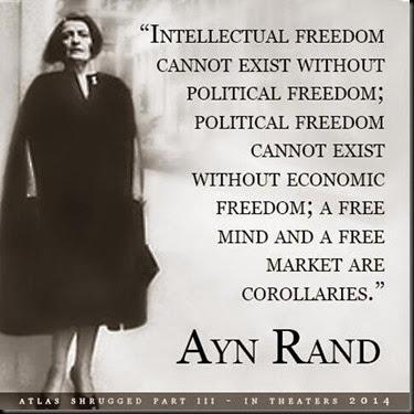 Ayn Rand On Freedom