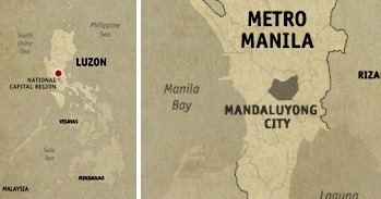 Mandaluyong Location Map