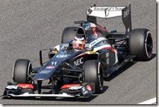 Hulkenberg con la Sauber