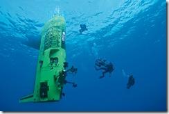 ジェームス・キャメロンの潜水艦