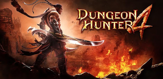Dungeon Hunter 4 APK+DATA (OFFLINE+Unlimited Money)