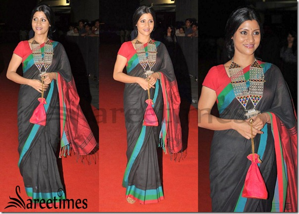 Konkana_Sen_Saree