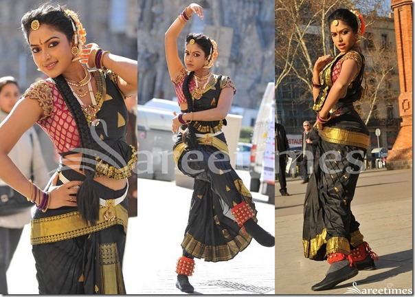 Amala_Paul_Black_Traditional_Saree