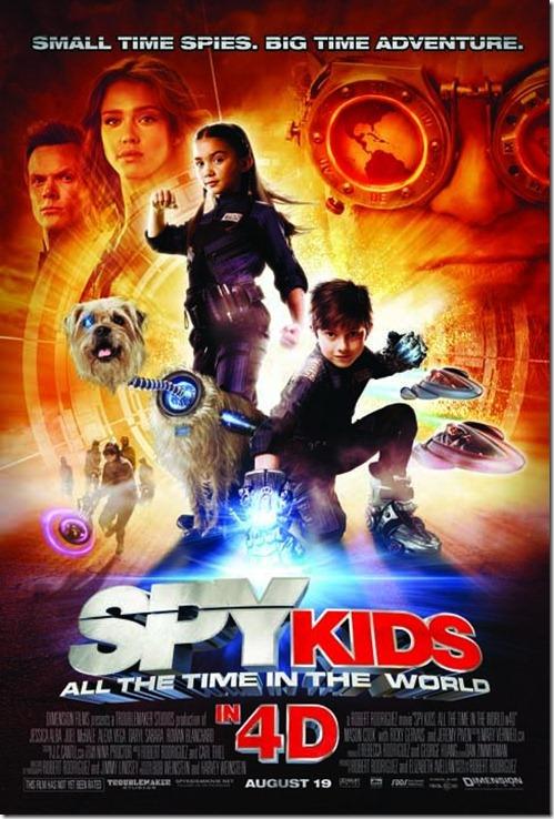 ดูหนังออนไลน์ Spy Kids 4 ซุปเปอร์ทีมระเบิดพลังทะลุจอ [HD Youtube]