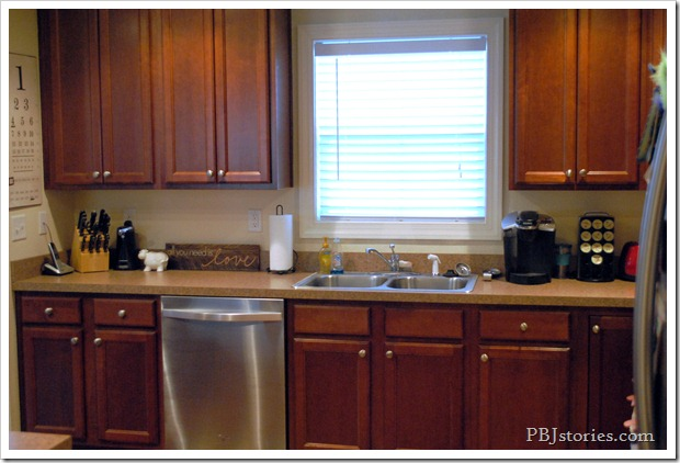PBJstories.com kitchen before