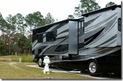 Cedar Key RV Resort site 82