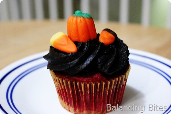 Halloween Cupcake Single