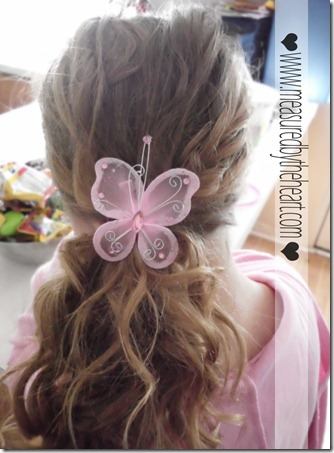 great cute butterfly hair clips