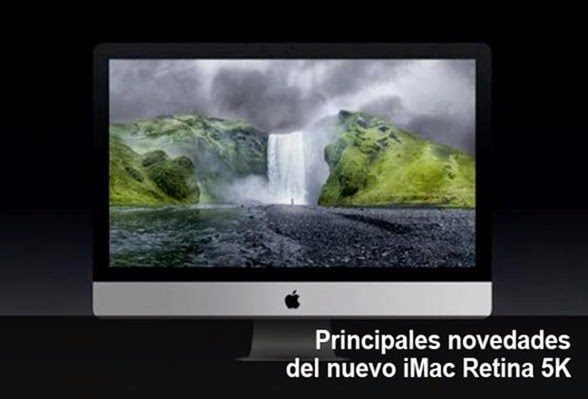 Cambios importantes de iMac Retina con pantalla 5K