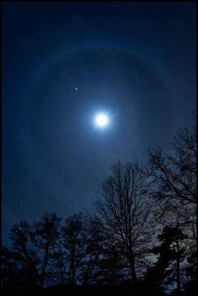 Moon halo