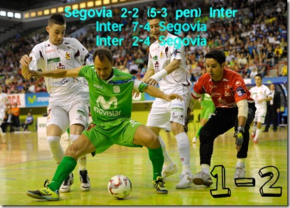 Inter Movistar vs Caja Segovia