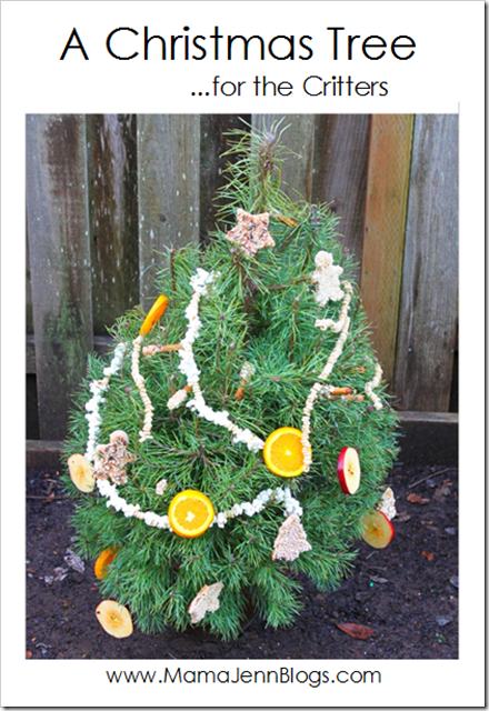 Night Tree: A Christmas Tree for Critters with edible ornaments