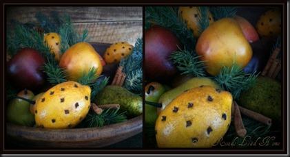 xmas fruit collage ARLH