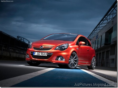 Opel Corsa OPC Nurburgring Edition 3