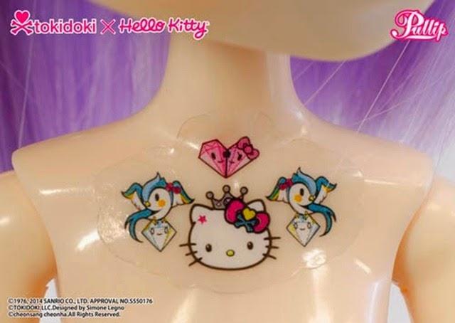 Pullip Violetta Tokidoki x Hello Kitty 09