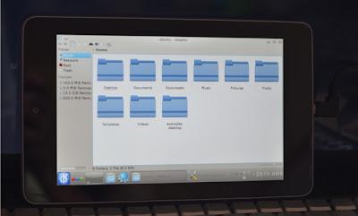 Kubuntu su Nexus 7