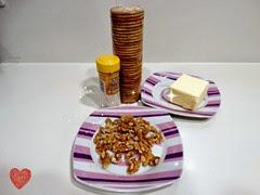 base de galletas ingredientes
