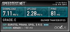 Mobilni internet O2 - test2