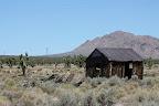 Le désert de Mojave a un petit air de Far West (après tout, c'est normal, on est en plein dedans...)