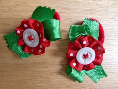 Como hacer adornos infantiles para el pelo o para decorar un vestido.